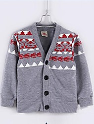 Boy's Fashion Color Matching Design Blouses