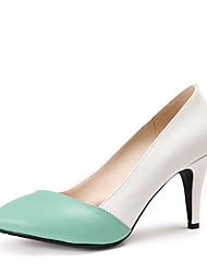 maykee Damenmode causual Heels Schuhe