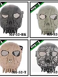 MA-52 Army Monster Desert Army Group Military Full Face Mask V1(Round Mesh)