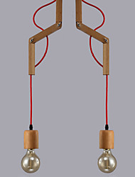 MAISHANG® Chandeliers Mini Style Modern/Contemporary Living Room/Bedroom/Dining Room/Study Room/Office Wood/Bamboo