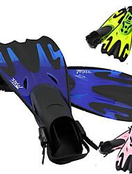 topis réglable nageoires de femmes d'hommes de formation nage libre longues palmes sirène plongée sous-marine en apnée chaussures pieds