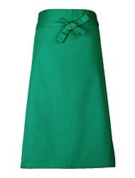 35% Cotton Light Green Medium Type Apron