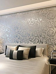 Contemporary 3d Wallpaper Art Deco Wall Covering Non-woven Paper Wall Art