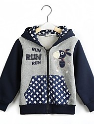 Boy's Cotton Hoodie & Sweatshirt , Winter/Spring/Fall Long Sleeve