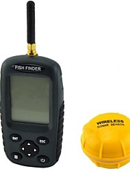 2.5 '' lcd dot matrix sonar wireless ricaricabile fishfinder