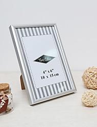 "4""X6"" Modern/Contemporary Rectangular Acrylic/Aluminum Picture Frames"