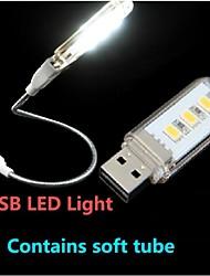 KLW - 1.5 - (W) - Blanco Natura - USB Lámparas de Noche/Luz de Lectura LED - AC 220 - AC 220 - (V)