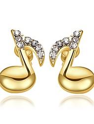 XU Women Fashion Diamond Stud Earrings