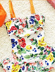 Girl's Chinese Style Swimsuit