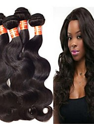 "3PCS/Lot Brazilian Hair Body Wave #1/#1B 8""~34"" Hair Weaves"