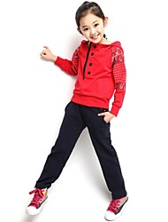 Girl's Spring Sports Clothing Sets(More Color)