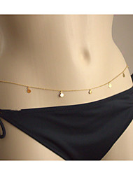 Women's  Circle Drop Sexy Body Belly Chain for Bikini Holiday