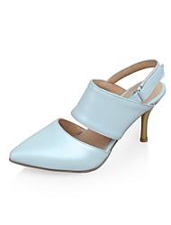 Chaussures Femme - Habillé - Noir / Bleu / Beige - Talon Aiguille - Talons / Bout Pointu - Talons - Similicuir