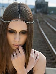 Bohemian Simple Layer Head Chain Jewelry Forehead Dance Headband