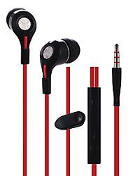 Fones (Ouvido) ( Microfone/MP3/Controle de Volume/Portatile/Fones de Ouvido )- Com Cabo - Maçã Dentro da Orelha