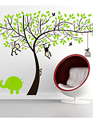 Baby Wall Decal Monkey Wall Decals Girl Decal Boy Decal Nursery Wall Decals Jungle Walls Decals