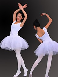 Ballet Women's White Modal 8 Sizes Ballet Skirt /Tutu/Ballerina Skirt