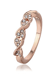 Alloy/Gold Plated Ring Couple Rings/Statement Rings Wedding/Party/Daily/Casual 1pc