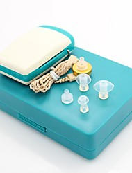 aparelho auditivo digital tom ajustável amplificador de som / voz em fones de ouvido audiphone