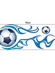 adesivi murali pvc calcio di sport fresco