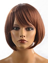 Capless Lady's Short Straight Daily Hair Wig