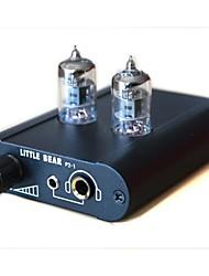 petit tube de soupape ours casque amplificateur préamplificateur P2-1-noir