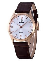 BESTDON BD98107G Men's Fashionable Waterproof Quartz Wrist Watch (1*SR621)