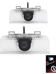 2 X Car Door Light for Honda Accord Odyssey Spirior Projector Logo Welcome Lamp