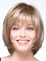 Fashion Newest womens Ladies Cut Hairstyle Synthetic Wigs Short Straight Hair Wigs