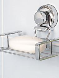 Etagère/Gadgets de salle de bain - Contemporain - Chromé - Fixation au Mur