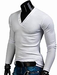 lange koker gemonteerd t-shirt