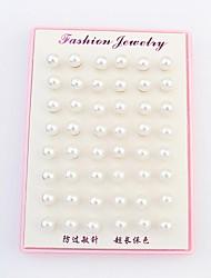 Boucle - en Alliage/Imitation de perle - Soirée/Tous les jours - Puces
