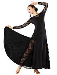 Ballroom Dancewear Woman's Elegant Ballroom Dance Dress(More Colors)