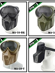 MA-18 Tactical Airsoft Transformers military mask (Steel Mesh)