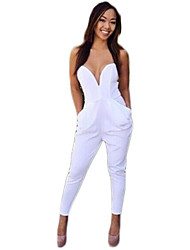 Women'S V-Neck Sleeveless Desigual Jumpsuit Hot 2015 New Brand Female Rompers Women Clothes Sundress Mujer