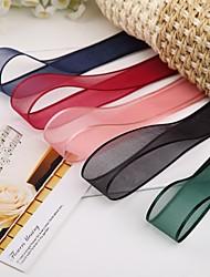 "1""Gorgeous Organza Ribbon(More Color)"