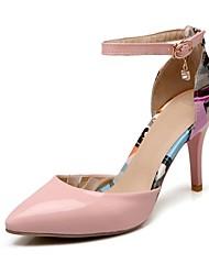 Chaussures Femme - Habillé - Vert / Rose / Blanc - Talon Aiguille - Talons / Bout Pointu - Talons - Cuir Verni