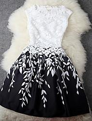 vestido de flores de encaje de Samantha mujeres