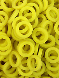 itatoo ™ 200pcs gelbe Gummi Tattoo O-Ring für Tattoomaschinen Teile p106018d