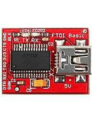 geeetech bot-06653 ftdi downloader ruptura básica para fio lilypad / pro