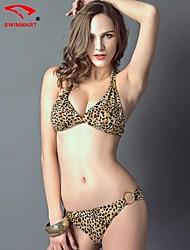 Bikinis/Tankinis ( Nylon/Polyester/Elasthanne ) Sans fil/Bras rembourrés - Dos nu pour Femme