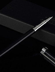 0.38mm Black High Grade School and Business Fine Writing Fountain Pen