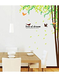 Wall Stickers Wall Decals, Style Tree Of Dream PVC Wall Stickers