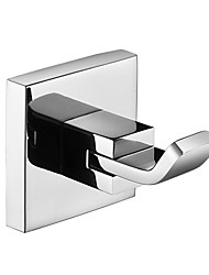 Robe Hook,Clothes Hook,304 Stainless Steel Chrome Finish,Bathroom Hardware Product