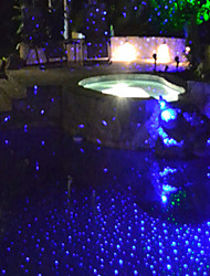 estacionário luz laser azul natal outdoor vagalume à prova d'água