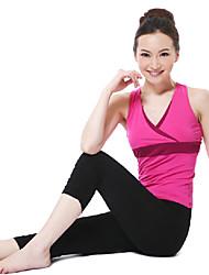 color de moda elegante yoga juego de la aptitud