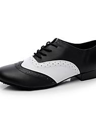 Мужская обувь - Кожа - Номера Настраиваемый ( Черный ) - Современный танец
