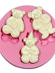Teddy Bear Silicone Cake&Chocolate Mold