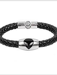 tina - alliage coréen bracelet accessoire en cuir au sein du parti
