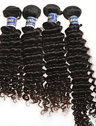 Hot Salling Malaysian Deep Wave Queen Hair Product 4pcs lot Malaysian Virgin Hair Natural Black Hair Human Hair Weav